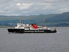 Calmac MV Isle of Arran (cmax211) Tags: sea ferry clyde boat ship blurred isle calmac arran mv firth lowcontrast longshot infocus highquality mediumquality oneface
