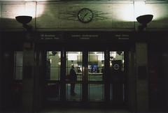 london underground limited (senseofdoubt) Tags: park london art station st 35mm underground james office nikon tube fujifilm deco n60 concierge