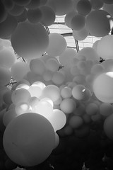 balloons (stevenp74) Tags: city white black art garden balloons giant hall market sony charles covent installation londoncity sonya7 sony28mmf2 ptillon