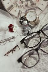 New Glasses & Watch (leoooona08) Tags: glasses twins watch harmony bjd accessories dollfie balljointeddoll enrill littlemonica