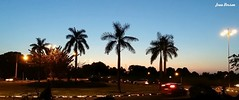 Panoramica com LG G3. (Jean Derson) Tags: pordosol panorama sunshine mobile sunrise lg smartphone g3 roraima boavista lgg3