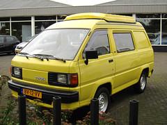 1987 Toyota LiteAce 1.8 D Commercial (rvandermaar) Tags: 1987 toyota liteace 18 d commercial toyotaliteace m30 m40 m50 m60 m70 m80 sidecode4 grijskenteken bv12vv rvdm