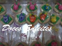 Pirulitos de Biscoito Festa dos Backyardigans (Doces Enfeites -  Bolos e Biscuit) Tags: de pirulitos biscoitobackyardigans