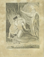 The history of Fortunatus (Toronto Public Library Special Collections) Tags: man animal wheel fortune sword blindfold chapbook fortunatus voyagesandtravels