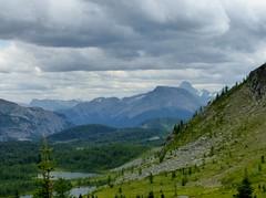 7-082 (Gnarlene) Tags: hiking banff healypass monarchramparts