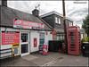 Westmuir Shoppie public phone box