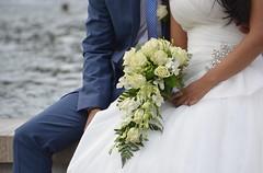 Sposa a Milano (AngelaRosaria) Tags: wedding milano bouquet fiori fiore bianco viaggio matrimonio sposa sposi