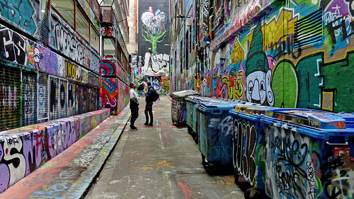 Hosier Lane Melbourne. by Bernard Spragg, on Flickr