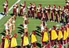 Band and Cheers (bighornplateau1) Tags: uscfootball uscfootball2015stanford cheer cheerleaders songgirls band trojans 2015 usc