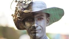 World Living Statues Festival 2015 in Arnhem. (Vintage Nexgrapher) Tags: holland netherlands festival sony arnhem streetphotography livingstatues canonfd100mmf2 sonynex sonynex5r fdtonexmountadapter fotodioxfdnex worldlivingstatuesfestival2015inarnhem