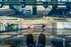 Chicago   |   Vertigo (JB_1984) Tags: theledge skydeckchicago willistower searstower observationdeck observationplatform street tower skyscraper feet selfie theloop chicago illinois il unitedstates usa nikon d7100 nikond7100