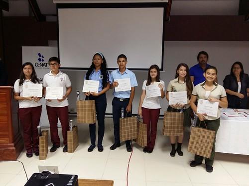 Premiación XVI Certamen N. de Esnayo científico