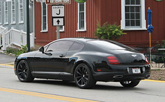 Bentley Continental Supersports (RudeDude2140a) Tags: black sports car continental exotic coupe supercar bentley supersports