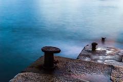 atraque (diegogonzlezvilda) Tags: mar bahia santander escaleras cantabria largaexposicion atraque