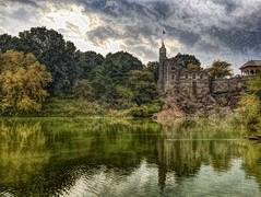Belvedere Castle (Karen-Keating) Tags: fall centralpark approachingstorm