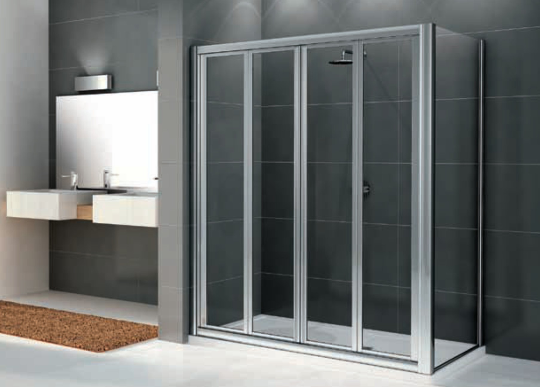 Parete in vetro per vasca da bagno - Box doccia vasca da bagno prezzi ...