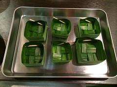 Pandan leaf boxes