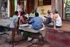 India - Odisha - Bhubaneswar - Streetlife - Men Playing Card