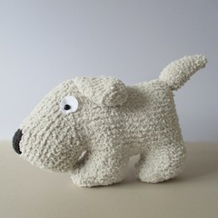 Dog Cushion (Knitting patterns by Amanda Berry) Tags: snowflake dog pet pets amanda dogs puppy toy toys berry puppies knitting handmade crafts knit pillows pillow yarn peter boucle pup knitted scotty cushion scottie making crafting knitter snuggly sirdar ravelry