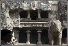 Templo Kailash (Fotocruzm) Tags: india asia maharashtra krishna aurangabad ellora patrimoniomundialdelahumanidad rupiaindia templokailash fotocruzm mcruzmatia religiónhinduista grutabudista diosshivá