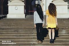 Steps, Melbourne (Naomi Rahim (thanks for 2 million hits)) Tags: street city travel boy people girl hair person photography spring nikon couple silent models protest longhair streetphotography australia melbourne victoria qantas quirky whimsical 2015 travelphotography nikond7000 jarradseng instameet qantasinstamel