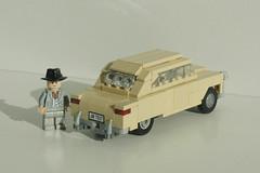 1950 Ford Tudor Deluxe Sedan (LegoEng) Tags: ford sedan lego deluxe tudor american 50s 1950 legoeng