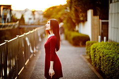 Natural light portrait using Helios 40-2 Lens on Canon 1Dx (Ilko Allexandroff / イルコ・光の魔術師) Tags: light portrait japan canon tokyo video natural 85mm 日本 東京 bts helios ポートレート velbon ilko 1dx 自然光 光の魔術師 allexandroff イルコ