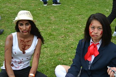 Sydney Zombie Walk 2015 (kelliejane) Tags: people outdoor zombie sydney australia brains nsw newsouthwales fundraising 2015 zombiewalk kelliejane sydneyzombiewalk theaustralianbrainfoundation zombiewalk15 sydneyzombiewalk15