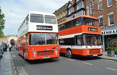 Bristol VRT's (PD3.) Tags: uk england bus buses ahead bristol vrt go oxford dorset salisbury wiltshire reds vr psv pcv nud centenary ecw goahead wilts bfx 105l bfx666t nud105l 666t