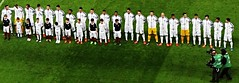 The England team stand for the national anthem ahead of their match against France (Ben Sutherland) Tags: france wembley lamarseillaise englandvfrance liberteegalitefraternite frenchteam frenchfootball frenchfootballteam frenchfootballfederation francefootballteam parisattacks francefootballfederation