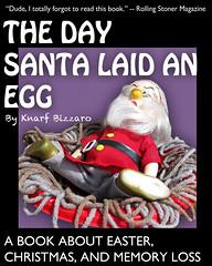 Book Cover - TDSLAE (frankatthebank) Tags: santa composite easter surreal eggs bookcover