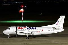 RAF-AVIA SAAB 340 YL-RAG (Dave707) Tags: airplane airport birmingham aircraft aeroplane cargo saab freight airliner freighter 340 windsock bhx propliner elmdon rafavia s340 egbb ylrag