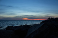 Sunset 12/2015 (Vicki from Yaphank) Tags: sunset ny beach december longisland beachsunset longislandsunset sunchaser