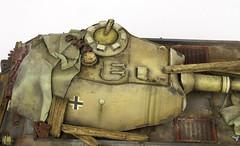 Vorne wip (Andy R Moore) Tags: tank worldwarii german 135 scalemodel vorne hobbyboss vk4502 paperpanzer