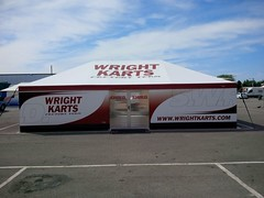 Wright Kart Factory Team Awning