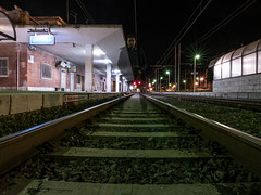 Death of Ghost (Giulio Gigante) Tags: leica selfportrait me night self myself ghost railways giulio leicacamera selfie binari binario leicadlux eccoqua giulionikon giuklionikon giuliogigante giuliogigantecom