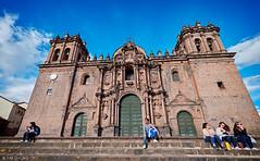 Catedral del Cusco (oeyvind) Tags: peru cuzco cusco perú per plazadearmasdelcusco catedraldelcusco catedralbasílicadelavirgendelaasunción xf1024mm