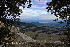 The Rhône Valley from the Gicon Castle (EccE LuX) Tags: winter france nature colors clouds landscape couleurs hiver rhône nuages paysage gard 2015 sigma35mmf14art nikond750 châteaudegicon