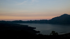 Sunset at Lake Batur (HansPermana) Tags: bali indonesia holiday sunset lake danau danaubatur dusk water blue mountain batur trip landscape
