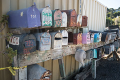 28PC.HouseboatMailDelivery (CurtisGrindahl) Tags: 2835pc sausalito