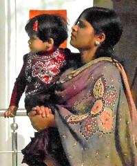 Mother and child pilgrims (bokage) Tags: india madhyapradesh sonagiri sonagir bokage pilgrim jain digambara temple