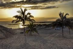 Sundown (Nige H (Thanks for 6.5m views)) Tags: nature landscape beach sunset sundown sand sea tenerife playadelduque costaadeje