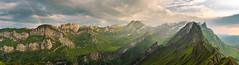 Lichtblick (naturemomentsphotography) Tags: schfler alpstein schweiz sntis wolken pano naturemoments sunset sonnenuntergang fineartphotography