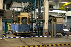 Die Werkstattgruppe der Freunde des Mnchner Trambahnmuseums knnen in der HW an den wertvollen Stcken arbeiten: Am Arbeitsstand des Vereins konnten die in Aufarbeitung befindlichen G1.8-Triebwagen 2970 und der Wagen 624 vom Typ E3.8 besichtigt werden (Frederik Buchleitner) Tags: 2970 624 ewagen fmtm freundedesmnchnertrambahnmuseums gwagen hw hauptwerksttte mvg munich mnchen ramersdorf strasenbahn streetcar tram trambahn freundedesmnchnertrambahnmuseums hauptwerksttte mnchen straenbahn