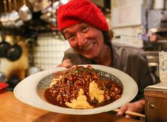 IMG_1034 (Jeff Amador) Tags: kyoto japan pontocho kichikichi kichi omurice omelette food