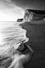 Edge of the Wave - BW (PeteWPhotography) Tags: lee little stopper rock contrast