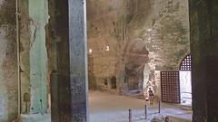 DSCF0057 glise monolithe d'Aubeterre-sur-Dronne (Charente) (Thomas The Baguette) Tags: aubeterresurdronne charente france monolith cave church tympanum glise glisenotredame saintjacques caminodesantiago sexyguy chateau cloister minimes mithra mithras cult