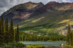 A Swiftcurrent Afternoon, Glacier National Park, MT (rebeccalatsonphotography) Tags: landscape mt montana np nationalpark glacier scenery mountains canon rebeccalatsonphotography
