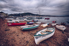 Along the Shore (RTA Photography) Tags: rta photography teignmouth boats sand beach sky water cloudy devon