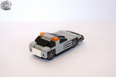 Safety Car - Mercedes (microairliner) Tags: lego micro microscale safety car mercedes benz slclass formula1